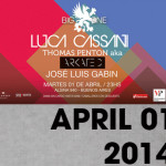 Luca Cassani Special Guest @ Big One Club (Buenos Aires Argentina) April 01